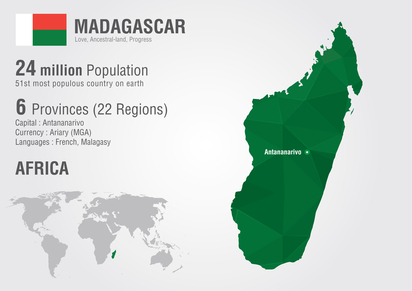 Madagaskar Infografik