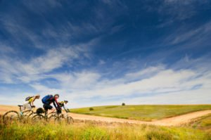 Gruppenreise mit Fahrrad