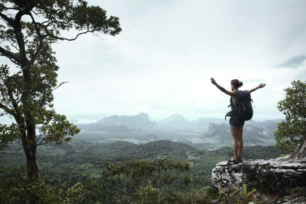 Alleinreisende Frauen beliebte Reiseziele